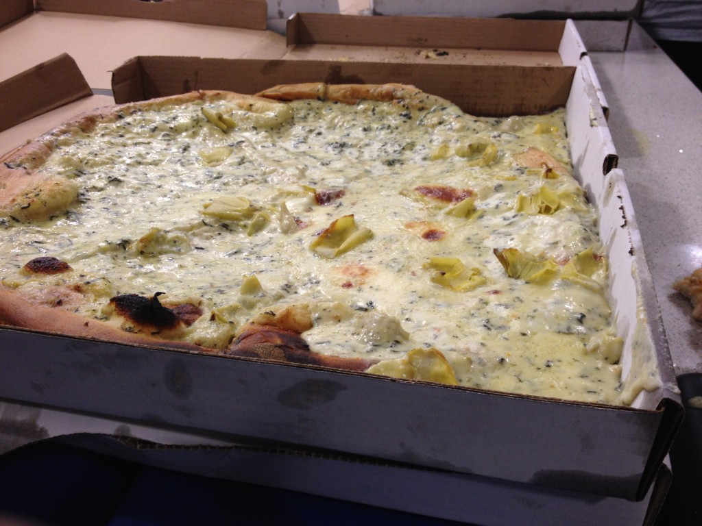 pizza ooze